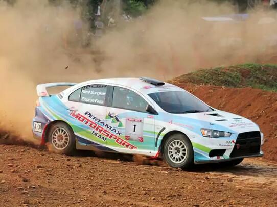 Rizal Sungkar dari Pertamax Motorsport siap berkiprah di Kejurnas Speed Rally dan Sprint Rally 2018. (foto : Pertamax Motorsport)