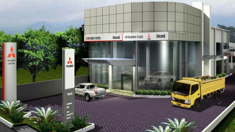 Diler Mitsubishi khusus kendaraan niaga di Bojonegoro Jawa Timur. (foto : ist)