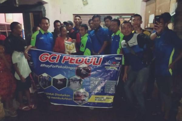 GSX Club Indonesia Galang Dana Untuk Korban Bencana Alam Pekalongan