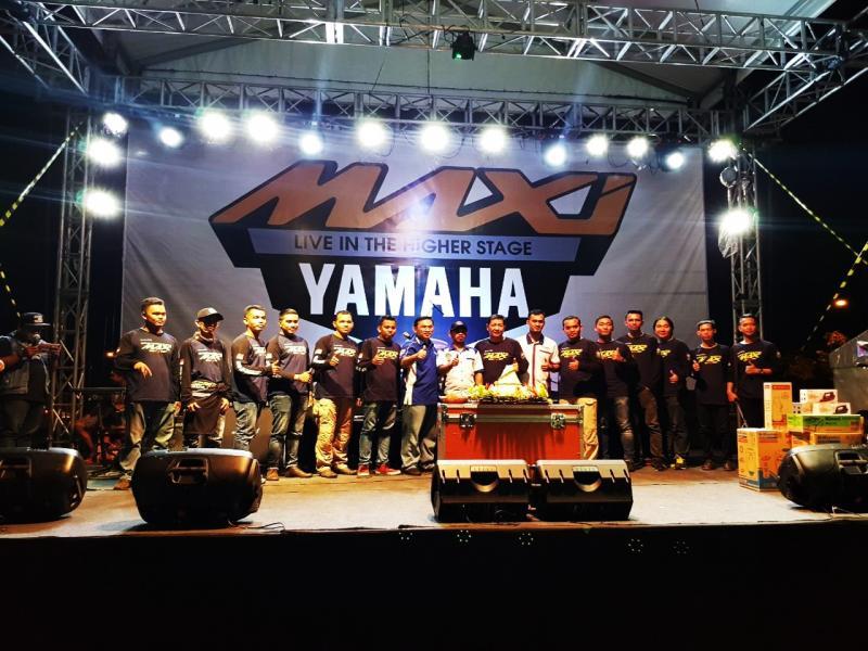 Meriah, Pesta MAXI Yamaha di Banjarbaru Kalsel