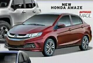 Honda Amaze, versi sedan dari Brio di India. (Foto : Autocar India)
