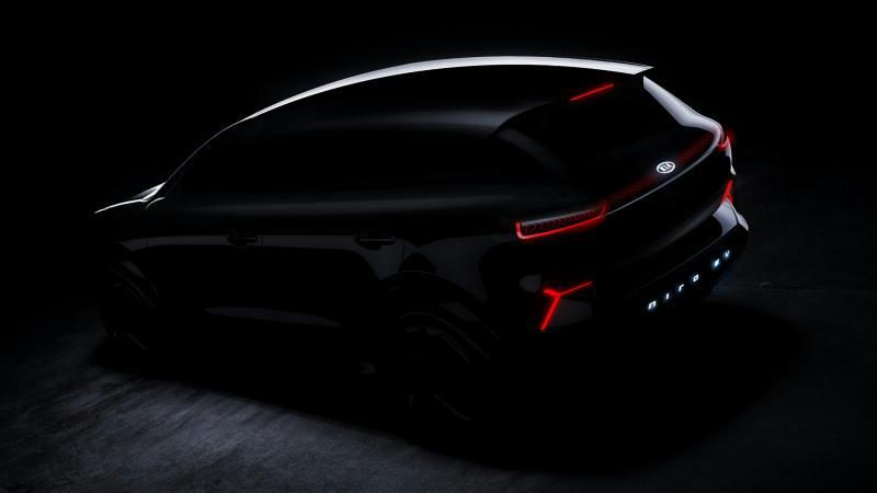 Mobil konsep All Electric dari Kia Motors. ( foto : Kia Motors)