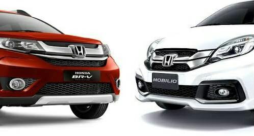 Mobilio dan BR-V, dua andalan Honda di segmen Low MPV. (foto : ist)