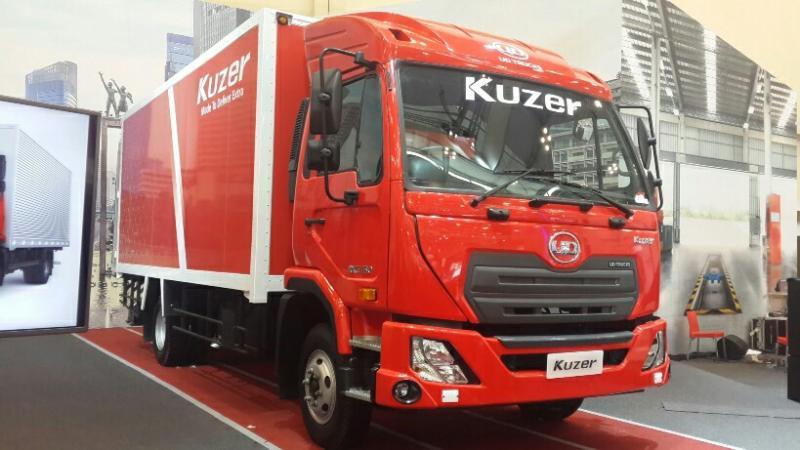 UD Trucks Kuzer jadi andalan penjualan truk di Indonesia (foto: anto)