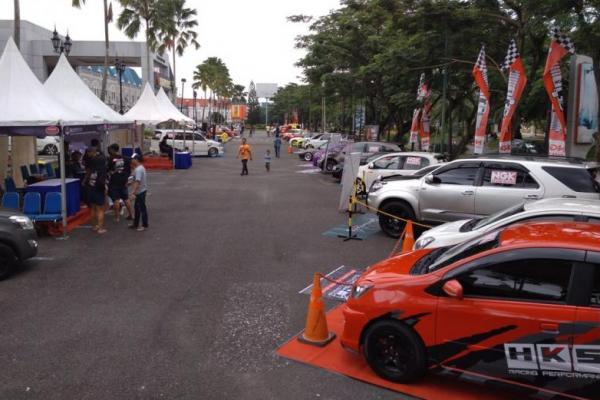 Event NGK Pit Stop di Balikpapan (ist)