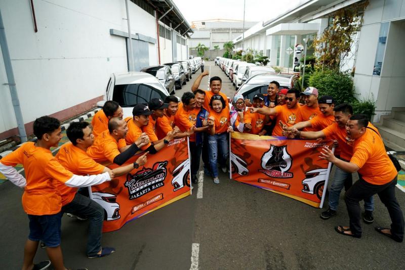 Peserta Honda Mobilio Battle of Efficiency Jakarta-Bogor. (foto : ist)
