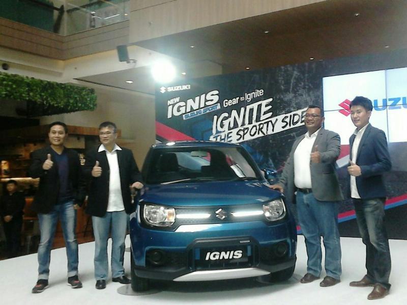 Suzuki Ignis Sport Edition jadi andalan penjualan baru yang terus dipoles (foto: anto)