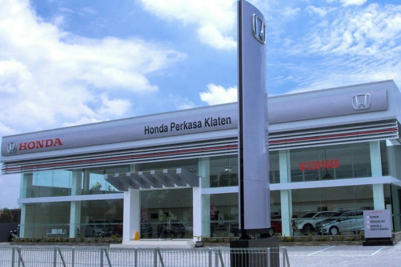 Honda Perkasa Klaten, diler mobil Honda yang pertama. (Foto : ist)