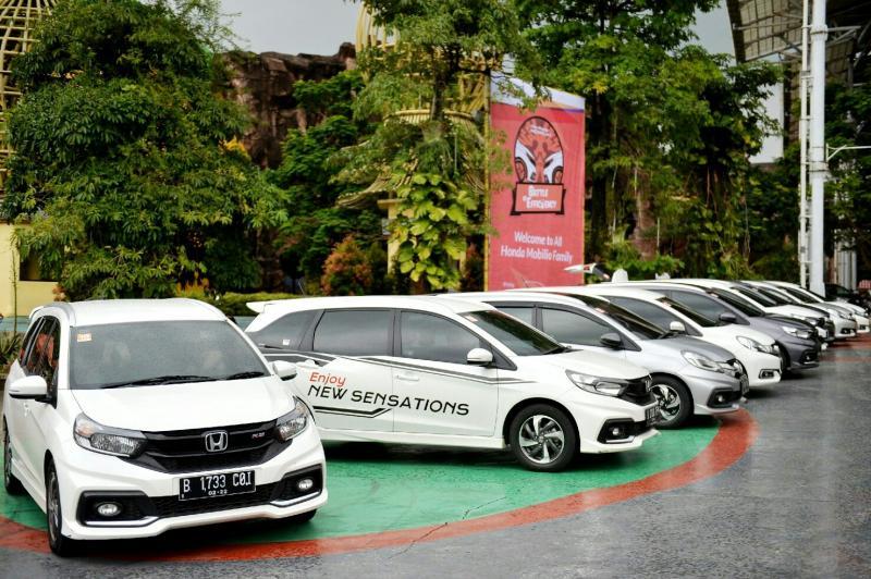 Honda Mobilio bersiap Battle of Efficiency part 3. (Foto : ist)
