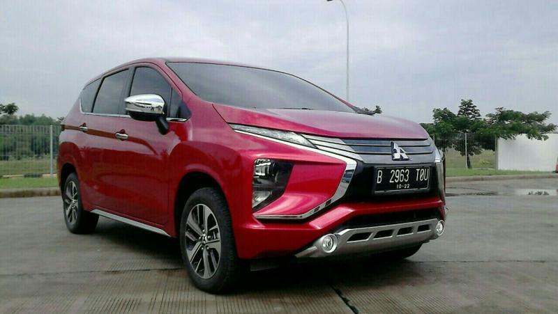 Calon pembeli Mitsubishi Xpander di Indonesia mendapat prioritas pertama untuk distribusinya (foto: anto)