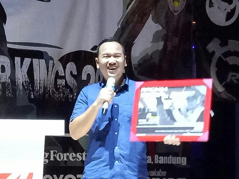 Tebe Adhi, akan ramaikan Kejurnas Speed Rally 2018. (Foto : budsan)