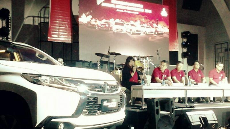 Manajemen Mitsubishi Indonesia di annual media gathering, percaya diri hadapi tahun 2018 (foto: anto)