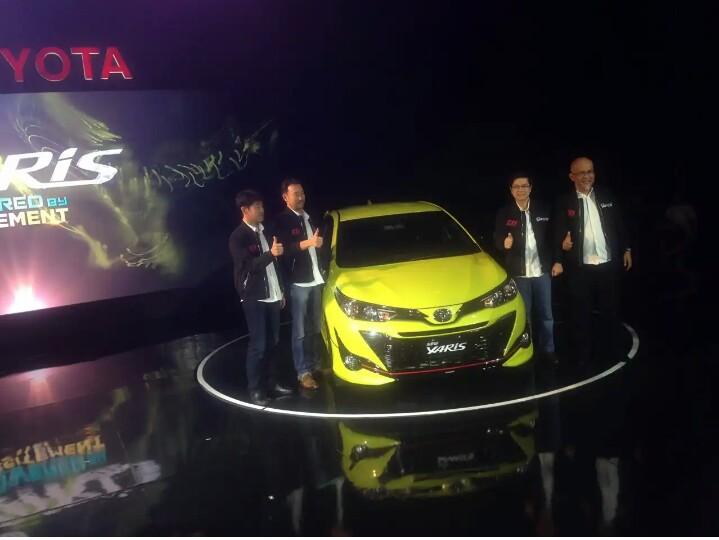 Generasi ketiga hatchback Yaris jadi pembuka peluncuran mobil baru Toyota di semester pertama 2018. (foto: dok. Mobilinanews)