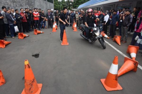 Pertamina ajak pembalap nasional budayakan aman berkendaran