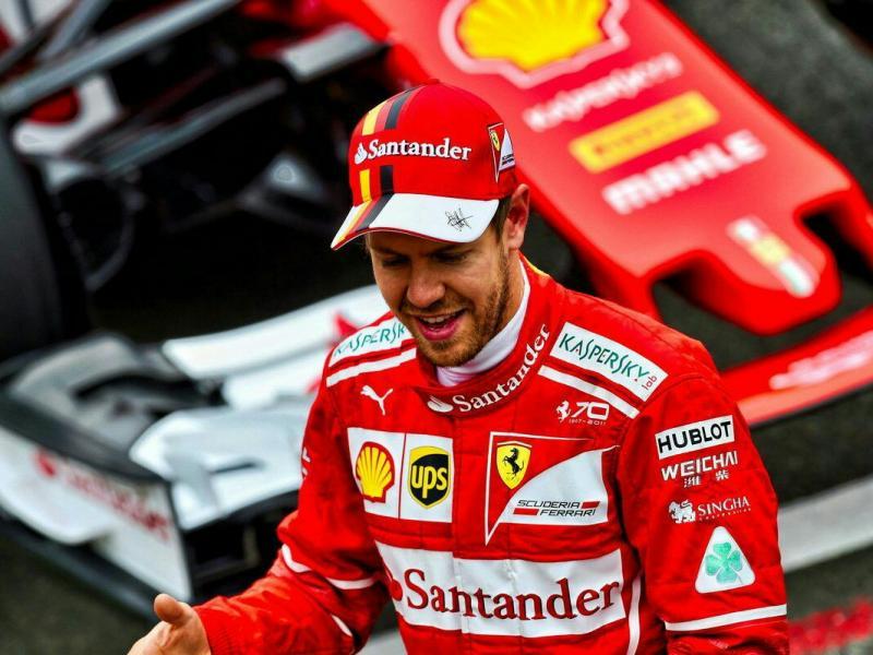 Sebastian Vettel masih menjadi andalan Ferrari. (foto: thisisf1)