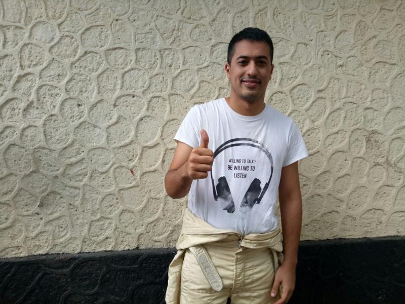 Zahir Ali menunjukkan keandalannya sebagai pegokart senior Indonesia. (foto : budsan)