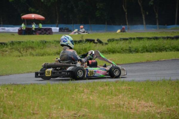 Keanon Santoso jadikan kejurnas gokart sebagai ajang pemanasan Asia Formula Renault 2018