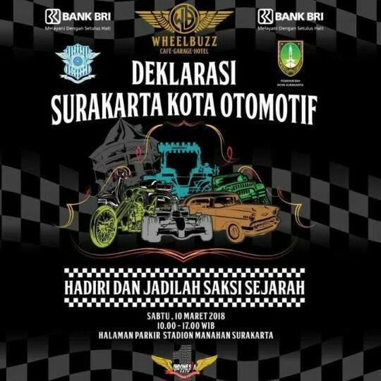 Komunitas Indonesia Satu akan libatkan ribuan komunitas roda dua dan empat. (foto : ist)