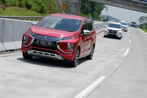 Mitsubishi Xpander media test drive dengan rute Yogyakarta - Semarang (Foto: adri)
