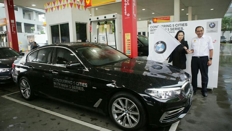 Start dari Jakarta, All New BMW seri 5 siap arungi 5 kota. (foto : ist)