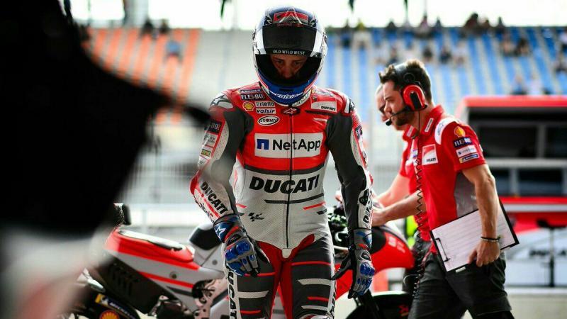 Andrea Dovizioso (Ducati). (foto: Ducati)