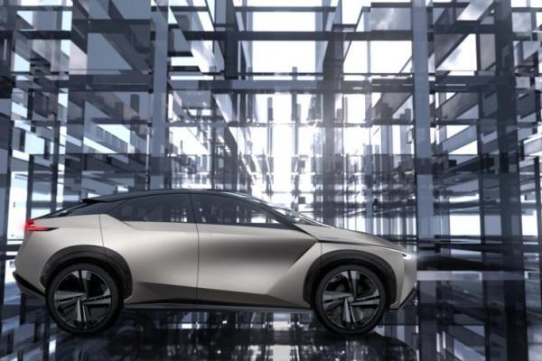 Nissan IMx KURO, salah satu konsep mobil listrik Nissan