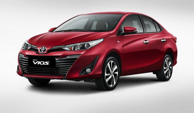 Toyota New Vios tampil lebih oke dengan penyegaran di interior dan eksterior. (foto : TAM)