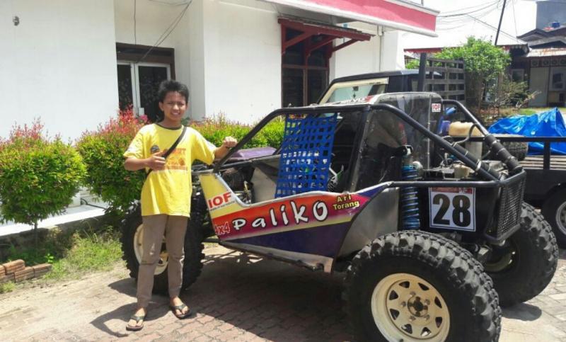 Ari Torang, offroader muda asal Payakumbuh