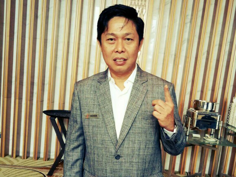 Hendra Noor Saleh, kehadiran Presiden Jokowi akan memperkuat eksistensi IIMS. (foto : budsan)