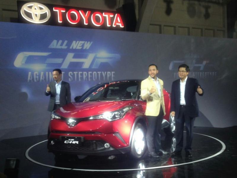 Toyota All New C-HR dilaunching di Jakarta, hanya satu tipe. (foto : adri)