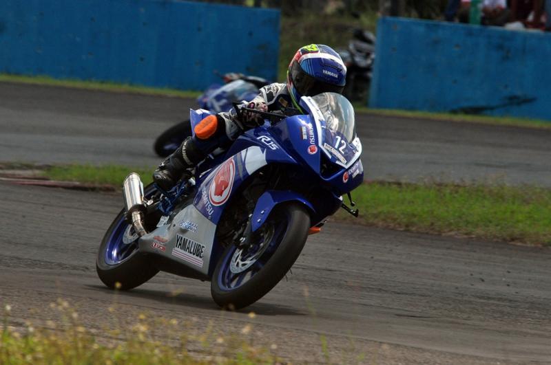 Aksi Aldy Satya Mahendra di Yamaha Sunday Race (YSR) 2018 seri 1