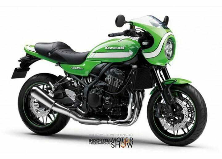 Kawasaki, gencar kenalkan model retro bermesin besar (foto: iims_id)