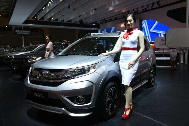 Honda New BRV dengan fitur baru dan desain lebih menawan. (foto : HPM)