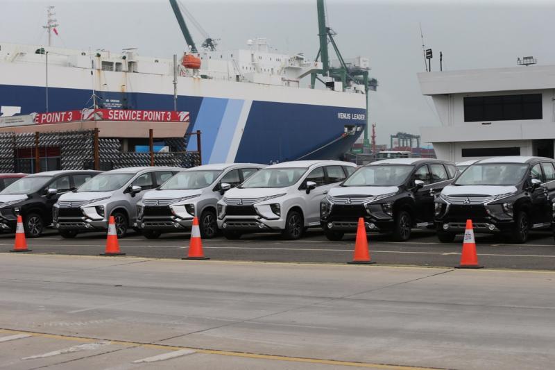 Ekspor perdana Mitsubishi Xpander menuju Filipina