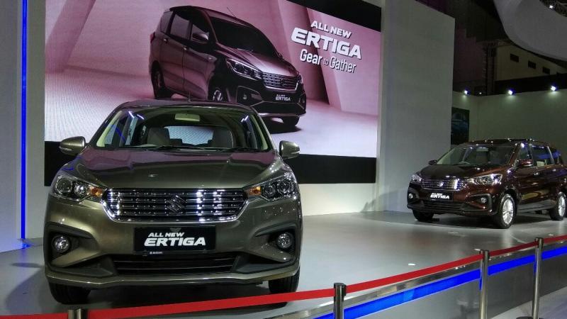 All New Suzuki Ertiga, magnet baru kelas Low MPV (foto: anto)