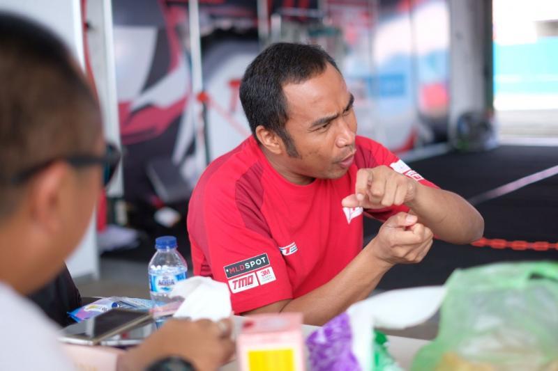Haridarma Manoppo (TTI), juara bertahan kejurnas ITCC 1600 max