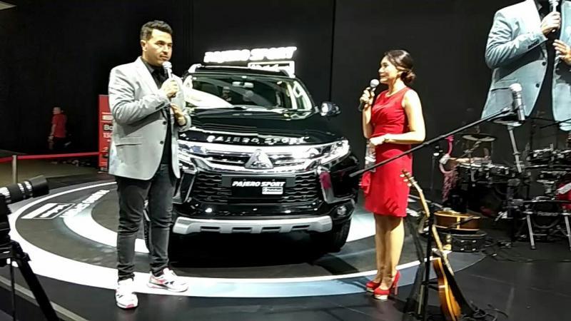 Rifat Sungkar, Mitsubishi Pajero Sport Rockford Fosgate value for money-nya bagus banget (foto: anto)