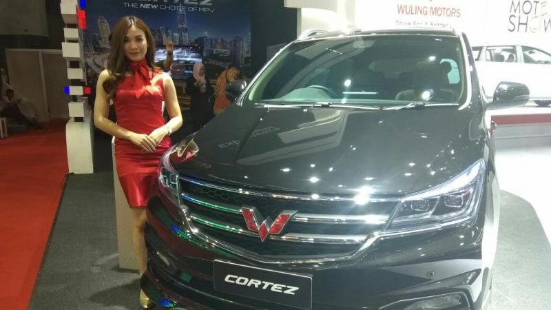 Wuling Cortez, menyedot banyak antusias dari penggemar MPV (foto: anto)