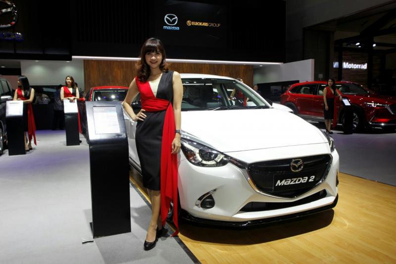 Mazda, memiliki penggemar tersendiri di Ibdonesia. (foto : budsan)