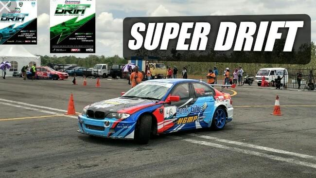 Seri pembuka Kejurnas Super Drift 2018 di Pondok Cabe bakal obati kerinduan event drifting. (foto : ist)