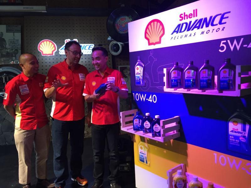 Peluncuran Shell Advance AX7 Scooter 10W-30 synthetic dan AX5 Scooter 20W-40 Minggu (6/5) di Yesterday Backyard, Jakarta Selatan