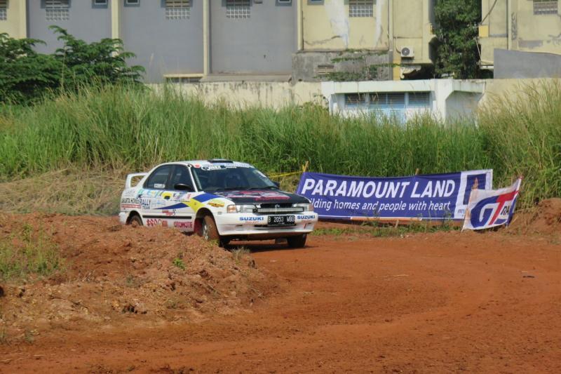 Paramount Land komitmen mendukung kegiatan motorsport di Indonesia. (foto : ist)