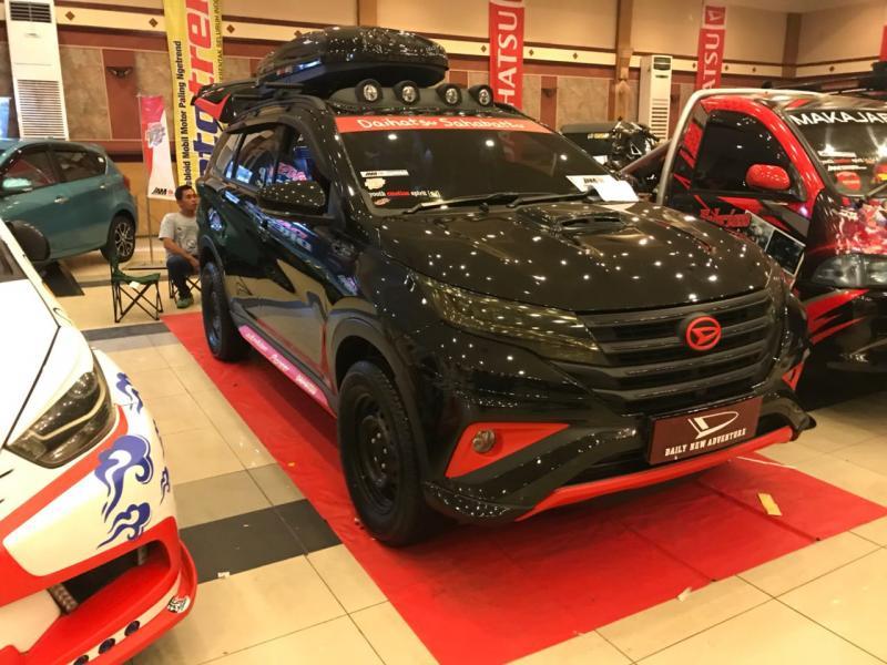 All New Daihatsu Terios versi modifikasi ikut unjuk gigi di Bandung (foto: ist)