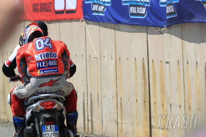 Lagi, Dovizioso gagal finish, kali ini di GP Le Mans (foto: ist)