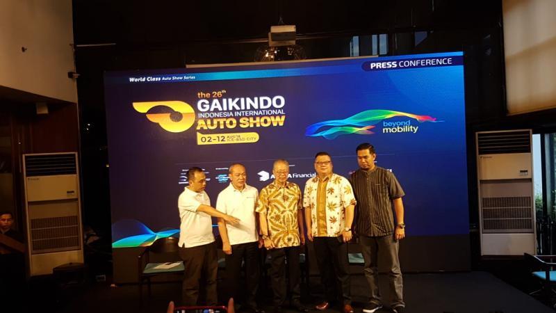 Konferensi pers pra GIIAS 2018 di Hotel Century Park, Jakarta
