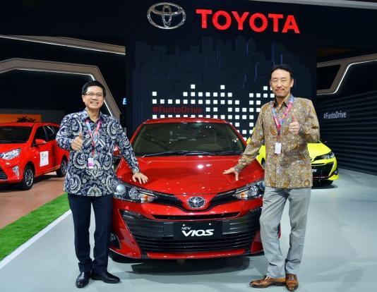 Konsistensi Toyota menghadirkan lini terlengkap menjadikannya market leader. (foto: ist)