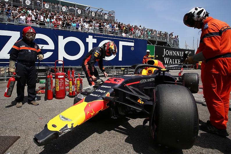 Gara kecelakaan di FP3, Verstappen gagal catatkan waktu di qtt dan harus start paling belakang (ist)
