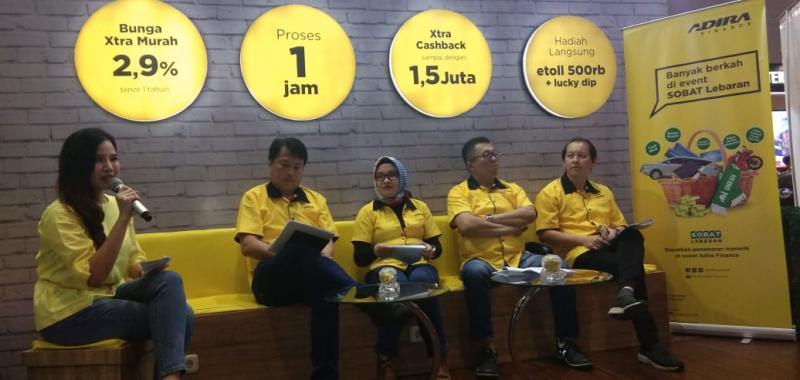 Adira Finance punya program menarik untuk konsumen pembiayaan mobil baru di Jakarta fair 2018