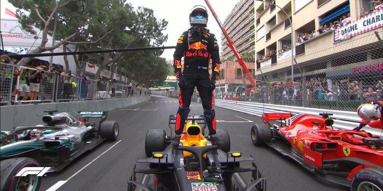 Perolehan poin di klasemen semakin ketat pasca hasil race F1 Monaco (ist)