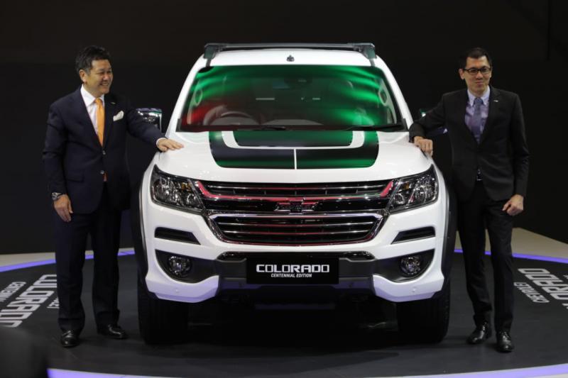 Chevrolet Colorado Centennial Edition hanya dijual 25 unit di Indonesia. (foto: anto)
